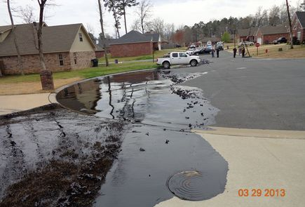 oil spill in arkansas