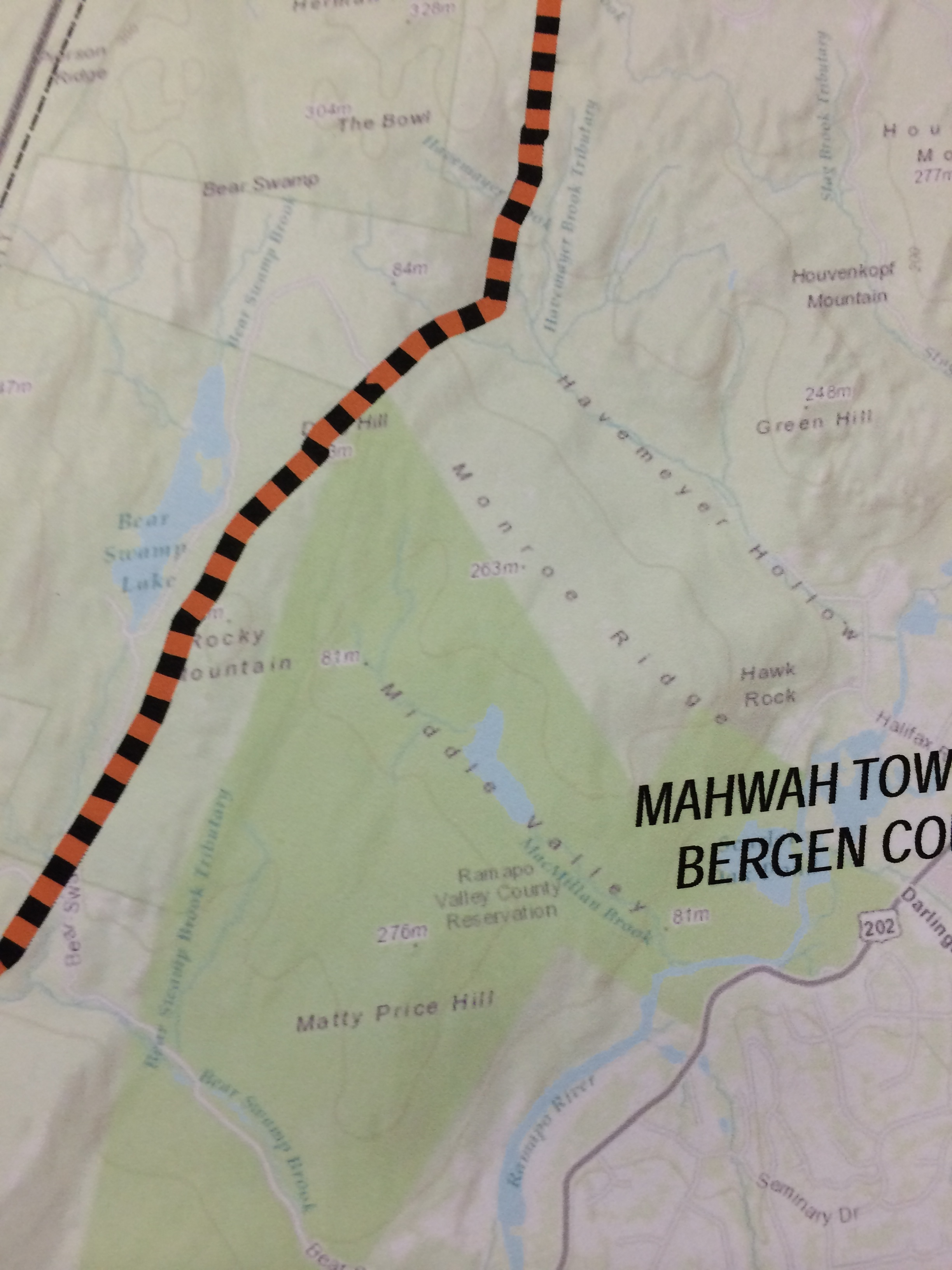 MapsNJ Coalition Against Pilgrim Pipeline CAPP - Maps of nj